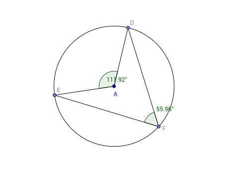 Central Angle Theorem Worksheet GeoGebra – Central Angles Worksheet