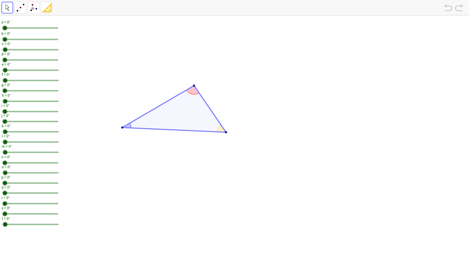 1. Display a sequence of triangles to illustrate that alternate interior  angles formed by parallel lines cut by a transversal are congruent. 2.