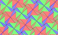 Pythagorean Tessellation # 41 Tiling