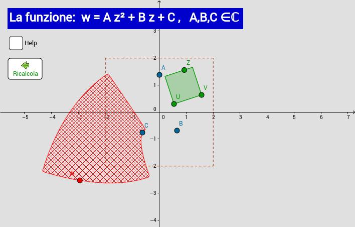 w = A z² + B z + C