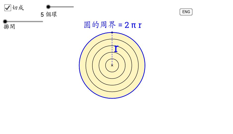 圓的面積 Area of Circles (2)