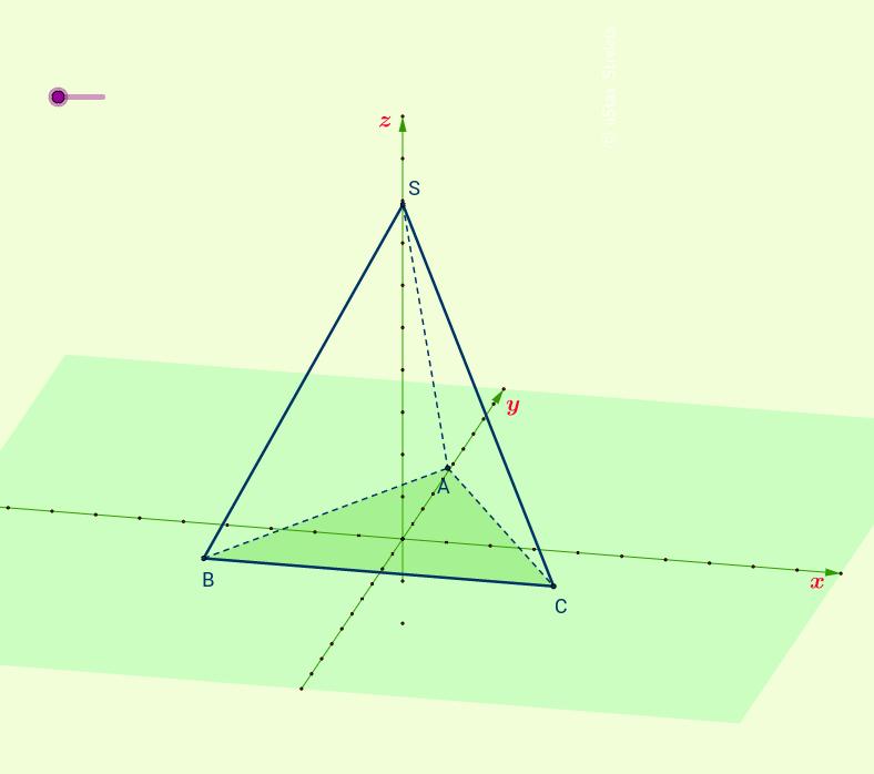 Triangular pyramid  for teachers