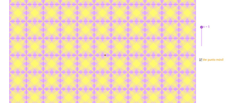 Mosaico a partir de un cuadrado