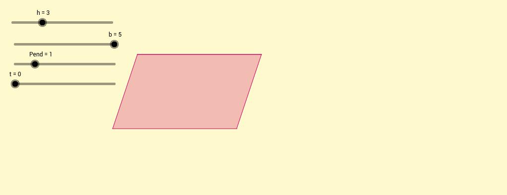 Àrea paral·lelogram