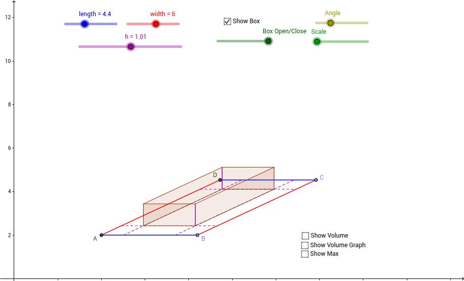 Box Folding Problem (basic version)