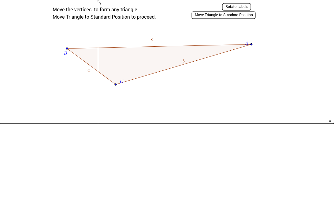 The Law of Cosines a Visual Proof GeoGebra – Law of Cosines Worksheet
