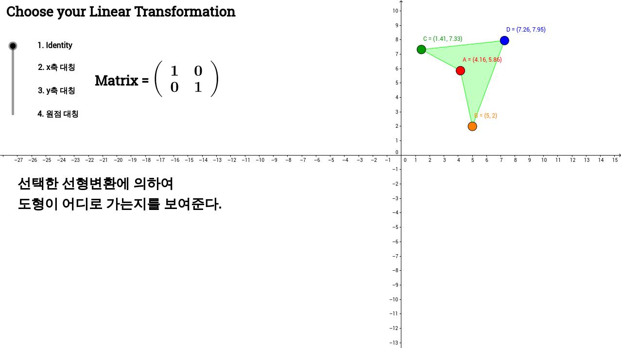 SKKU-Linear Transformation