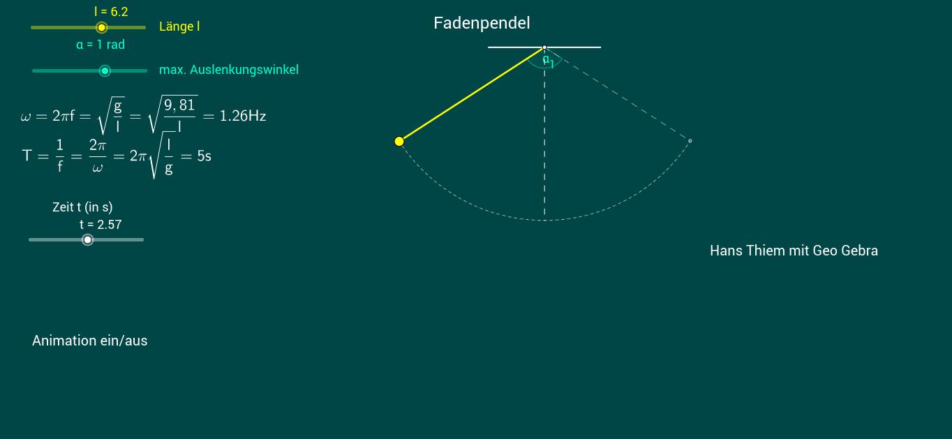 Fadenpendel