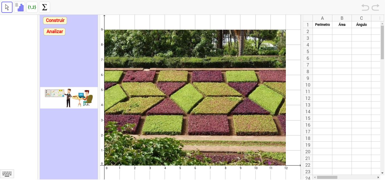 Mi jard n geom trico geogebra for Jardin geometrico