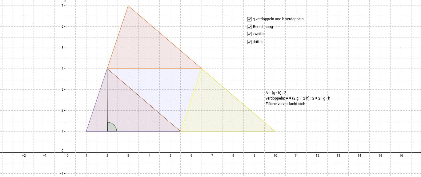 Flächeninhalt Dreieck