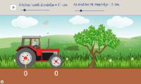 Traktorkerék – legkisebb közös többszörös