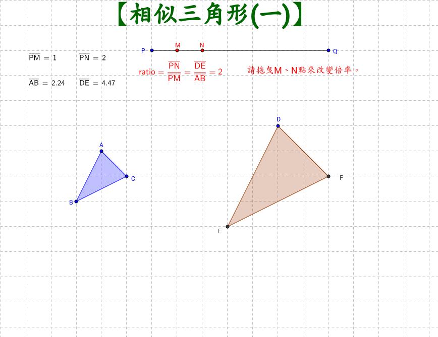 相似三角形(一)
