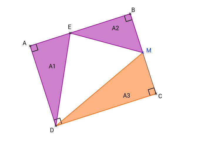 Un rectangle, trois énnoncés