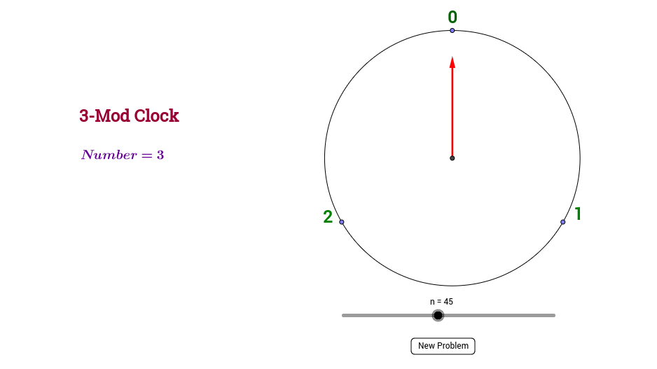 Mod 3 Clock