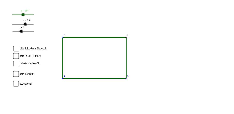 Paralelogramma nevezetes vonalai