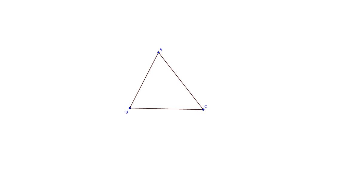 Omgeschreven cirkel driehoek