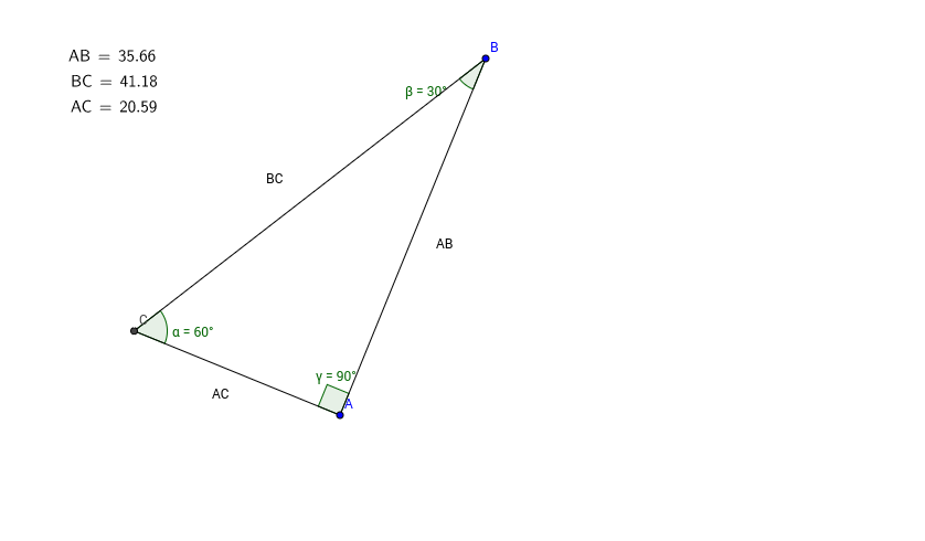 Discovering Relationships with 306090 Triangles GeoGebra – 30-60-90 Triangle Worksheet