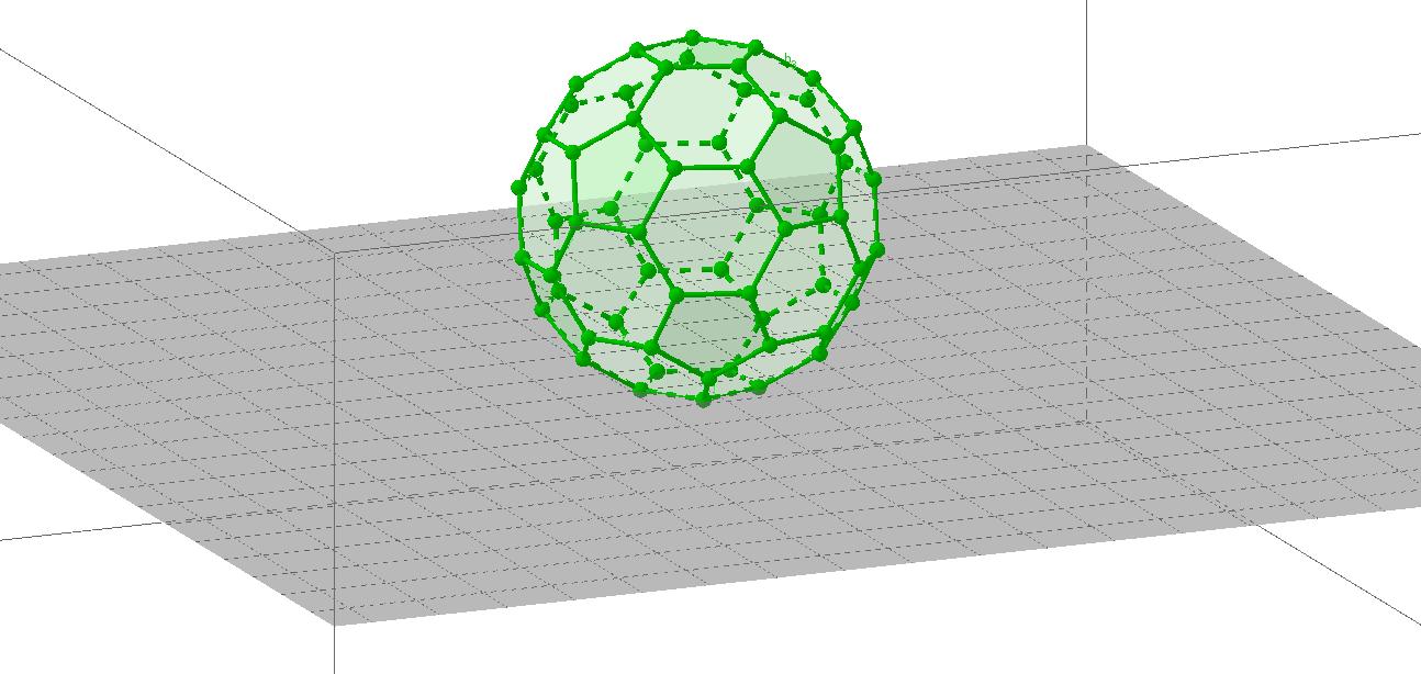 molecula fulleren C60的副本