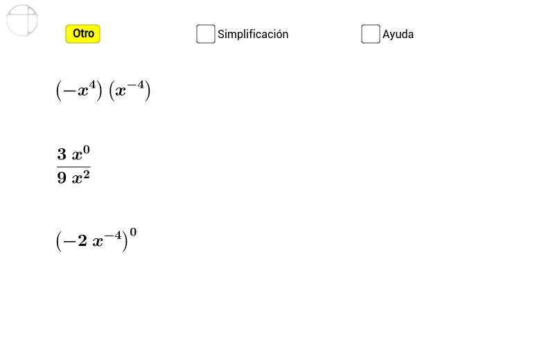 Exponentes 1