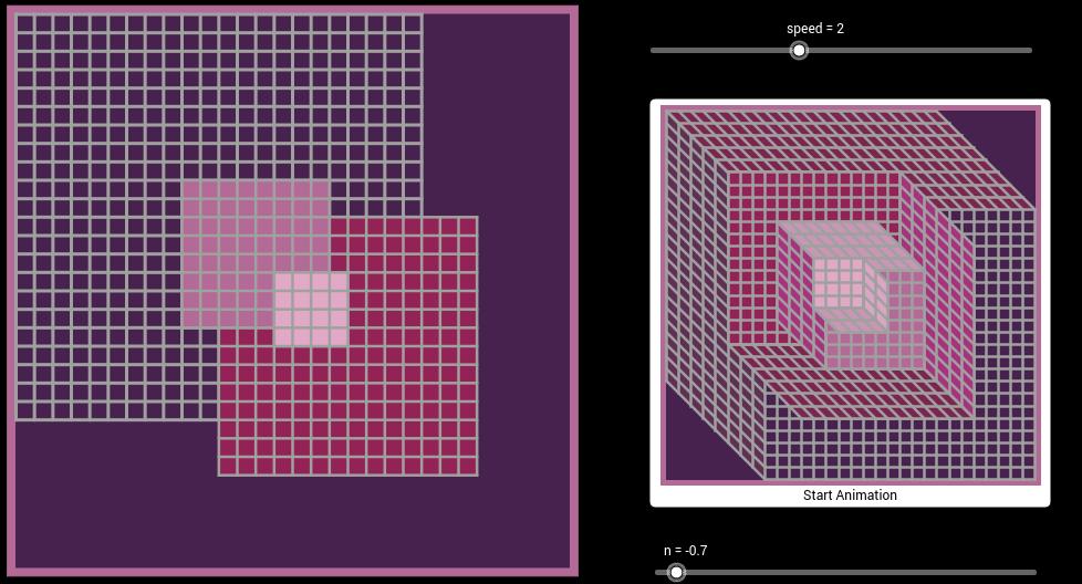 Vasarely Op-Art: Axomet