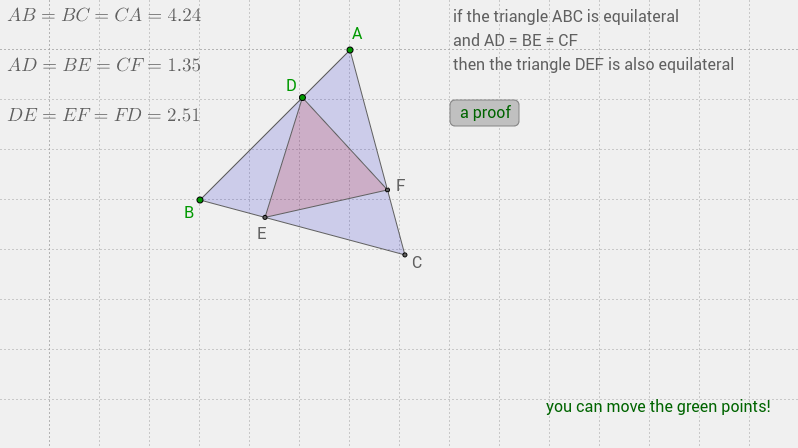 equilateral triangle (SAS)