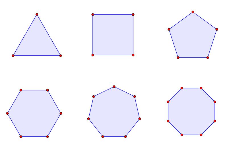 Reguläre Gleichdicks konstruieren