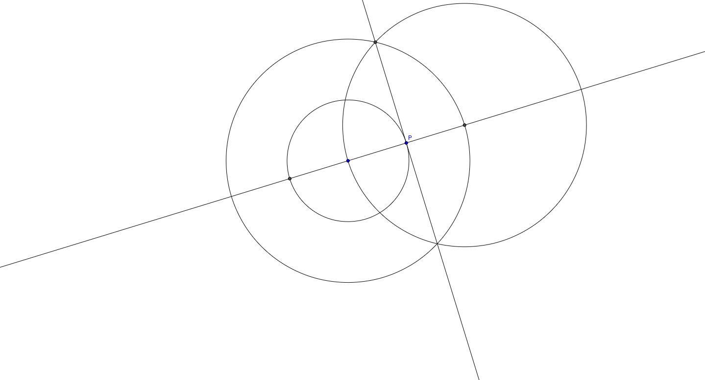 Recta Tangente a una Circunferencia en un punto en ella