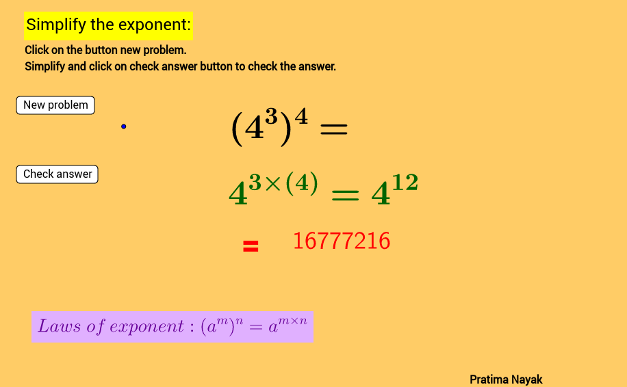 Copy of Worksheet-2 for law of exponent