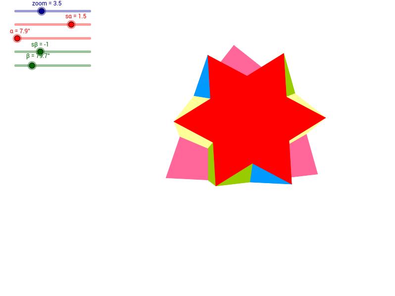 Powycinany czworościan - 2