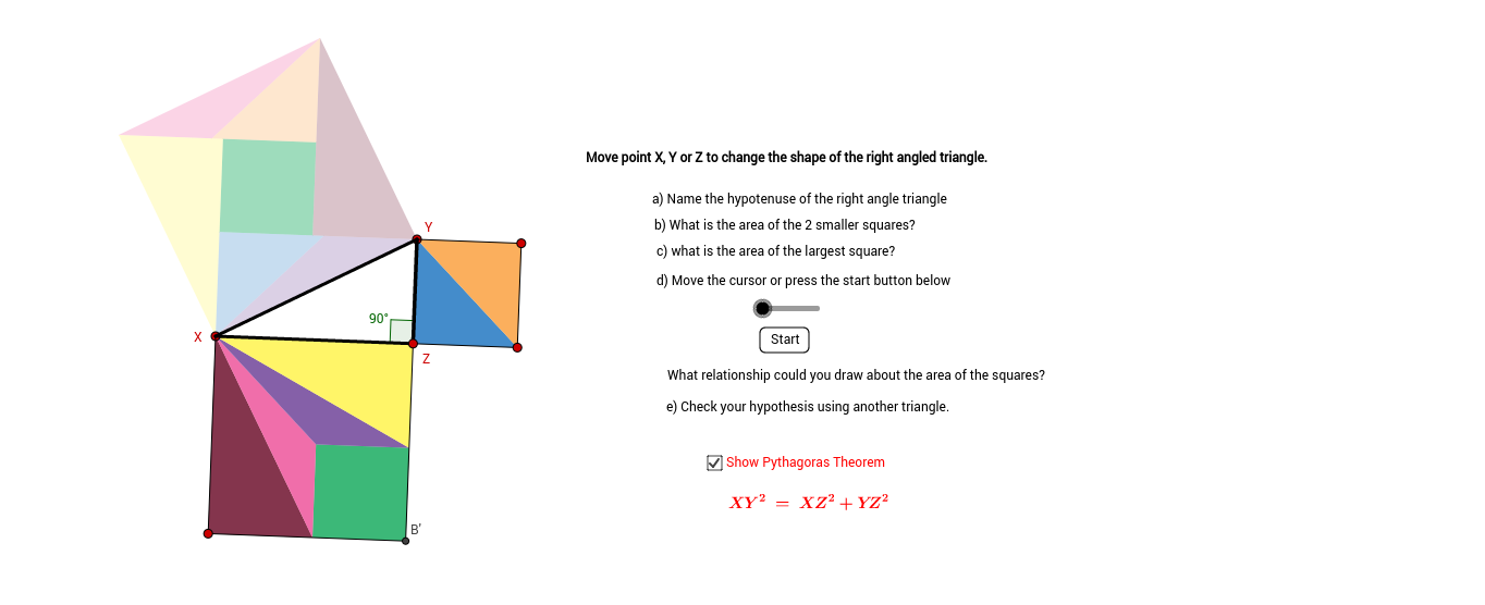 Theorem of Pythagoras