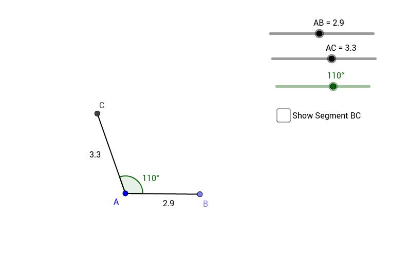 Triangle Congruence - SAS