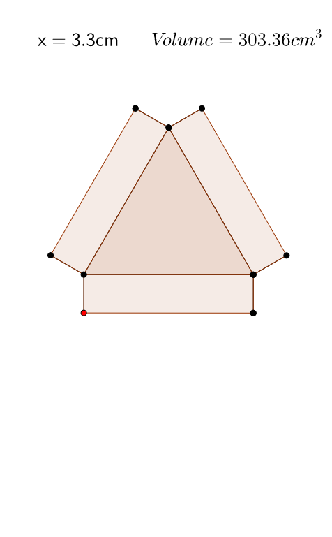 Triangular Box Problem