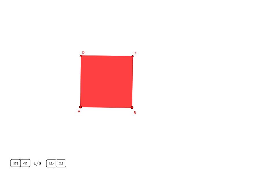 Reducir un cuadrado a la mitad