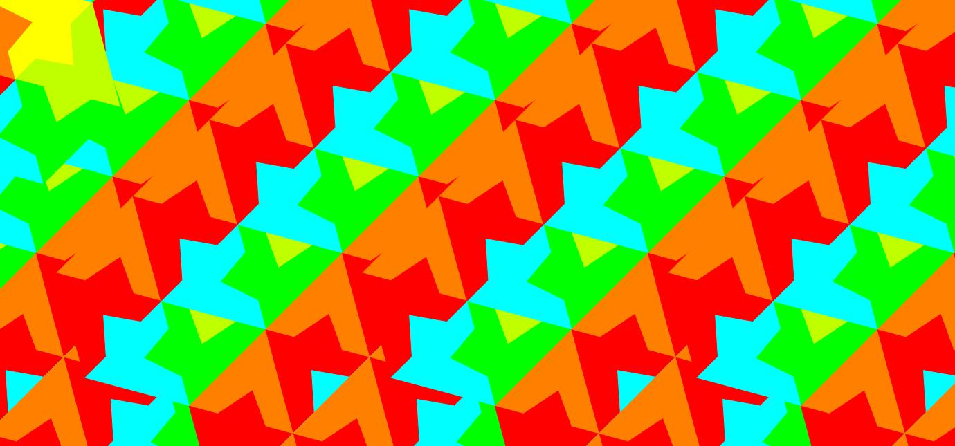 Орнамент на основе базового элемента