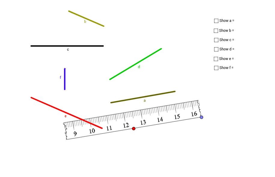 Broken Centimeter Ruler GeoGebra – Broken Ruler Worksheet