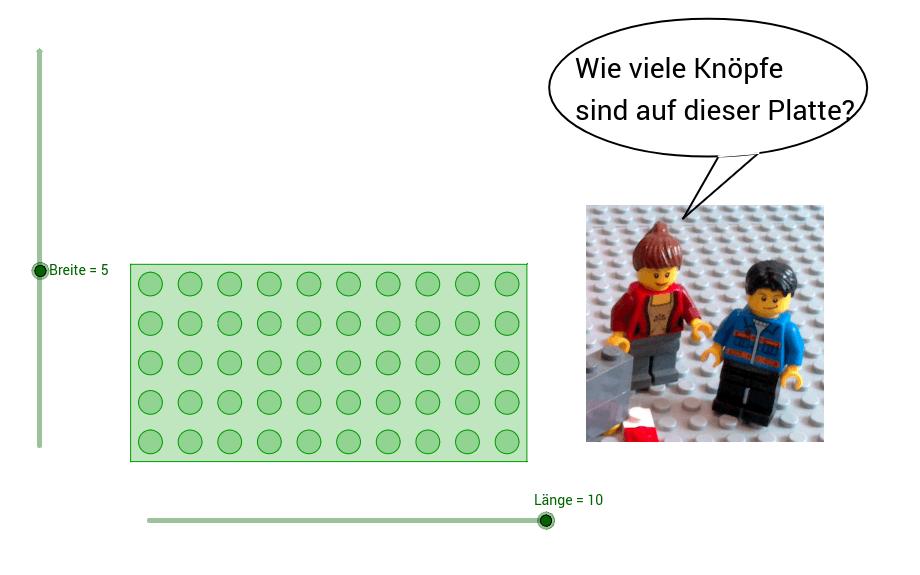 LEGO-Mathematik: Multiplikation und Flächeninhalt - GeoGebra