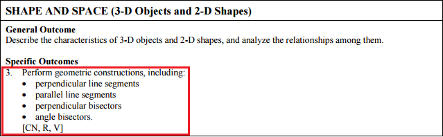 Rectangle Construction Geogebra