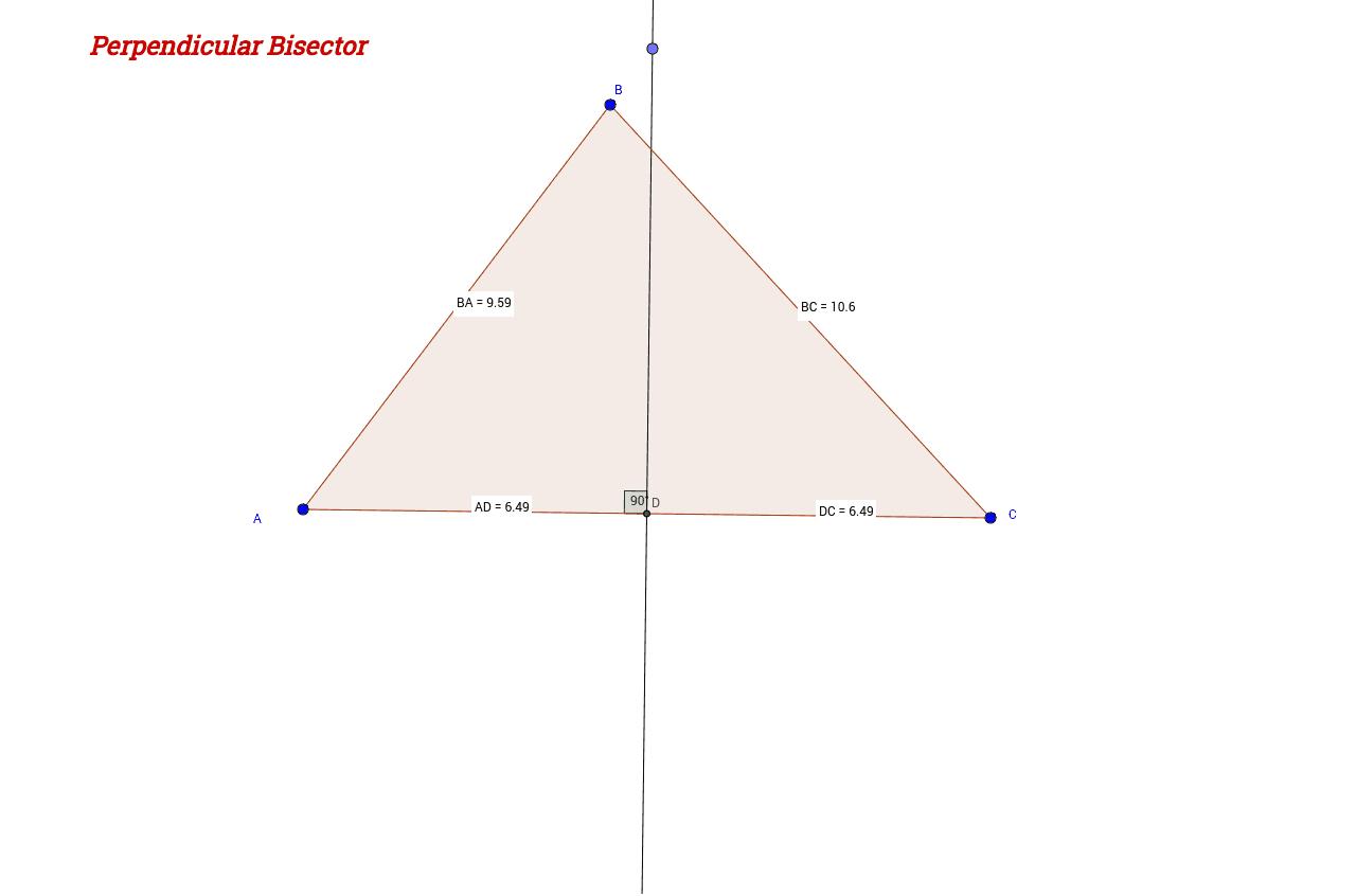 Special Segments In Triangles Geogebrabook