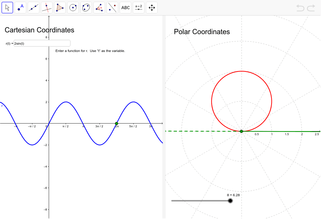 Cartesian and polar grapher geogebra pooptronica Image collections