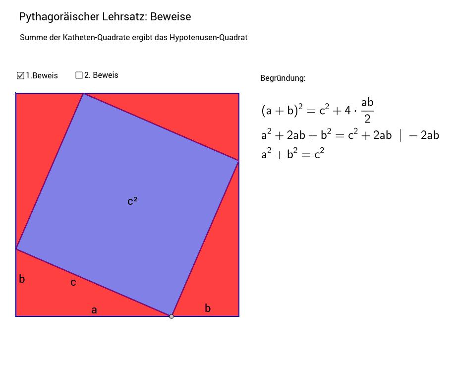 Schön Geometrie Beweise Einer Tabelle Mit Antworten Bilder ...