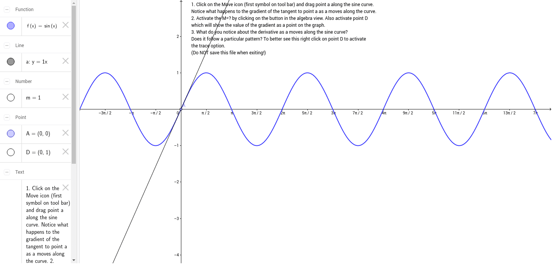 Derivative of sinx geogebra biocorpaavc