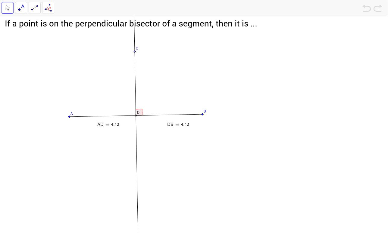 worksheet Hinge Theorem Worksheet chapter 5 relationships within triangles geogebrabook perpendicular bisector theorem